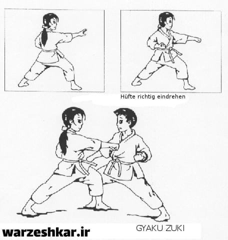 -تکنیک های کاراته شوتوکان-