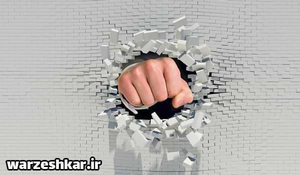 عوارض مشت زدن به دیوار