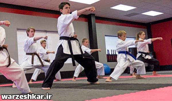 فواید ورزش کاراته